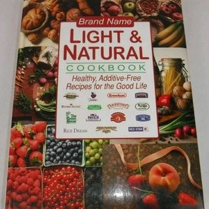 Other - 🍔🍗🍕 Brand Name Light and Natural Cookbook